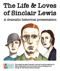 Image of the logo for The Life & Loves of Sinclair Lewis